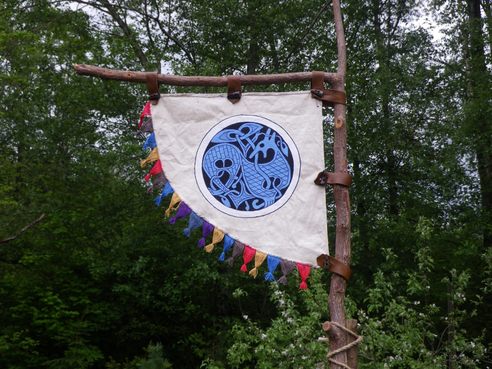 The Viking Art of Ulf's Craft: Viking Banner and my personal emblem