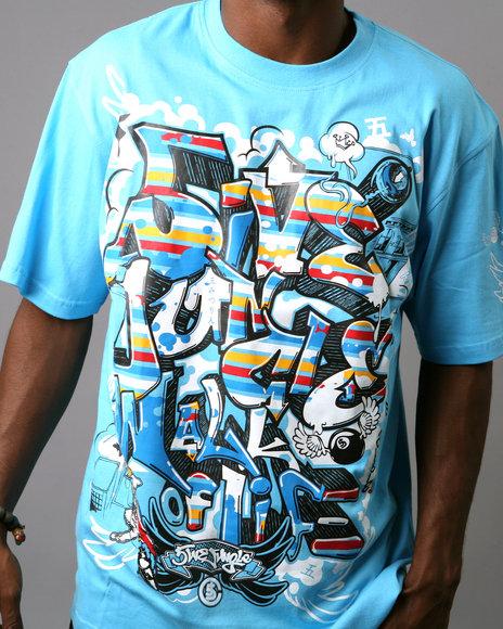 Hip hop fashion 5ive jungle clothing urbannation for Urban streetwear t shirts