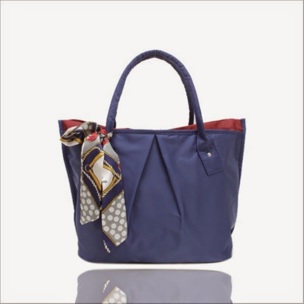 Bianca Tote Bag With Scarf