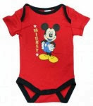 Red Mickey Mouse Romper