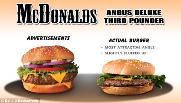 For this Angus Deluxe third pounder burger, Dario D praised the amount of lettuce it came with