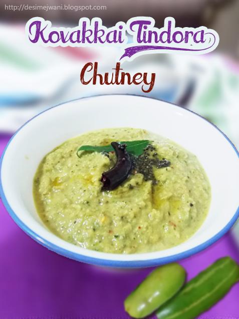 Kovakkai Chutney recipe