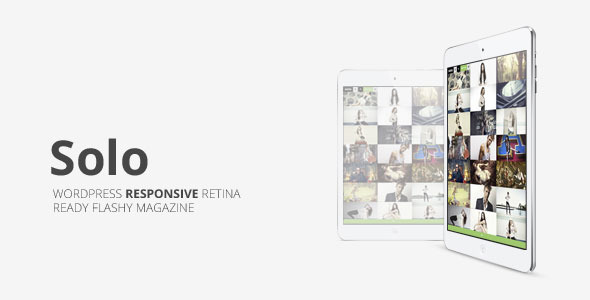 FREE DOWNLOAD Solo Grid Responsive Multipurpose Themeforest WP Magazine Theme