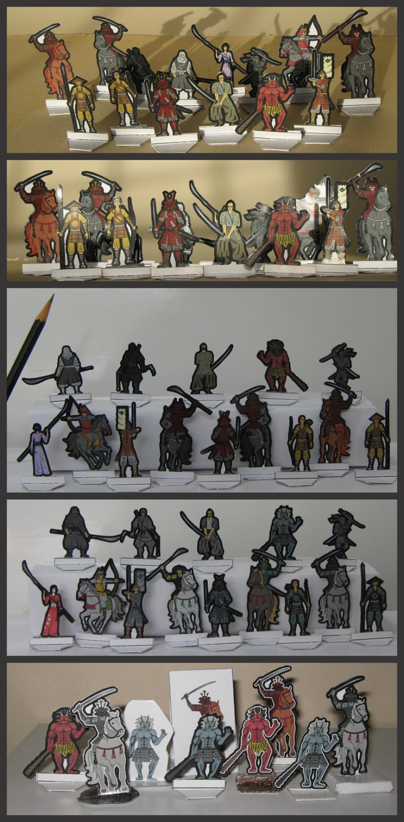 Picture of Feudal Japan Miniatures