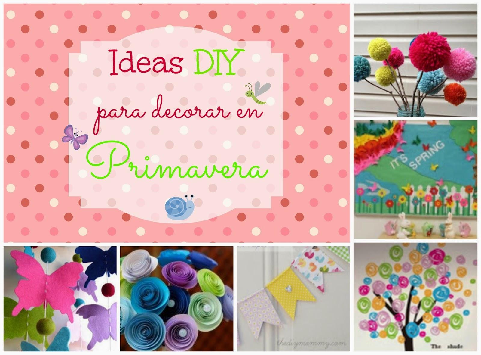 recursos propuestas e ideas para decorar el aula en primavera