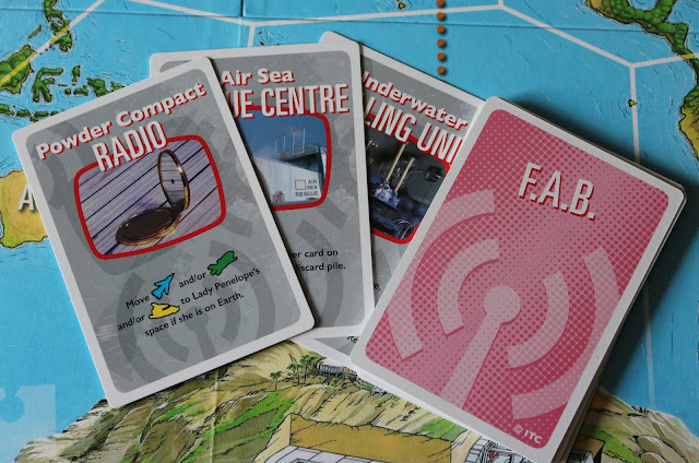 Thunderbirds Co-operative Board Game - F.A.B. cards