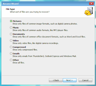 how to manually recover deleted files