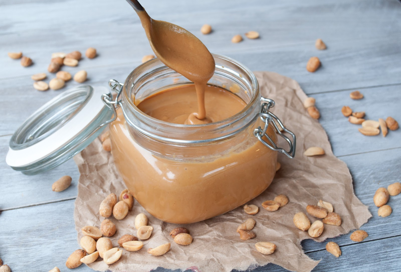 Mostly Sweet and Sometimes Salty: DIY Honey Roasted Peanut Butter