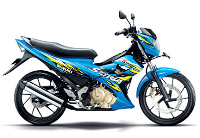 Pilihan warna New Suzuki Satria FU 150 2013