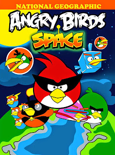 Selimut Rosanna Angrybirds Space