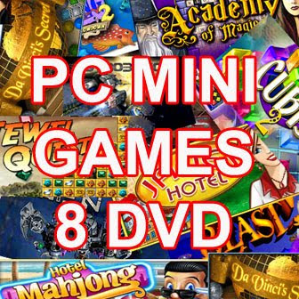 Paket Mini Games (8DVD)