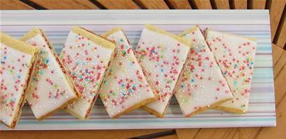 Hindbaersnitter cake
