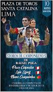 Paco Céspedes, Luis López y Nuno Casquinha, anunciados en Santa Catalina, 10/05.