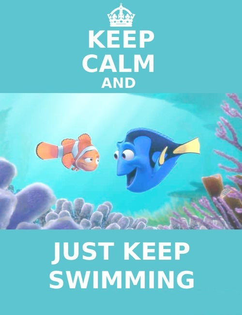pieceful kwilter: just keep swimming...