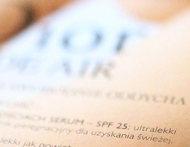 Nowa wersja reklamy Dior Nude Air