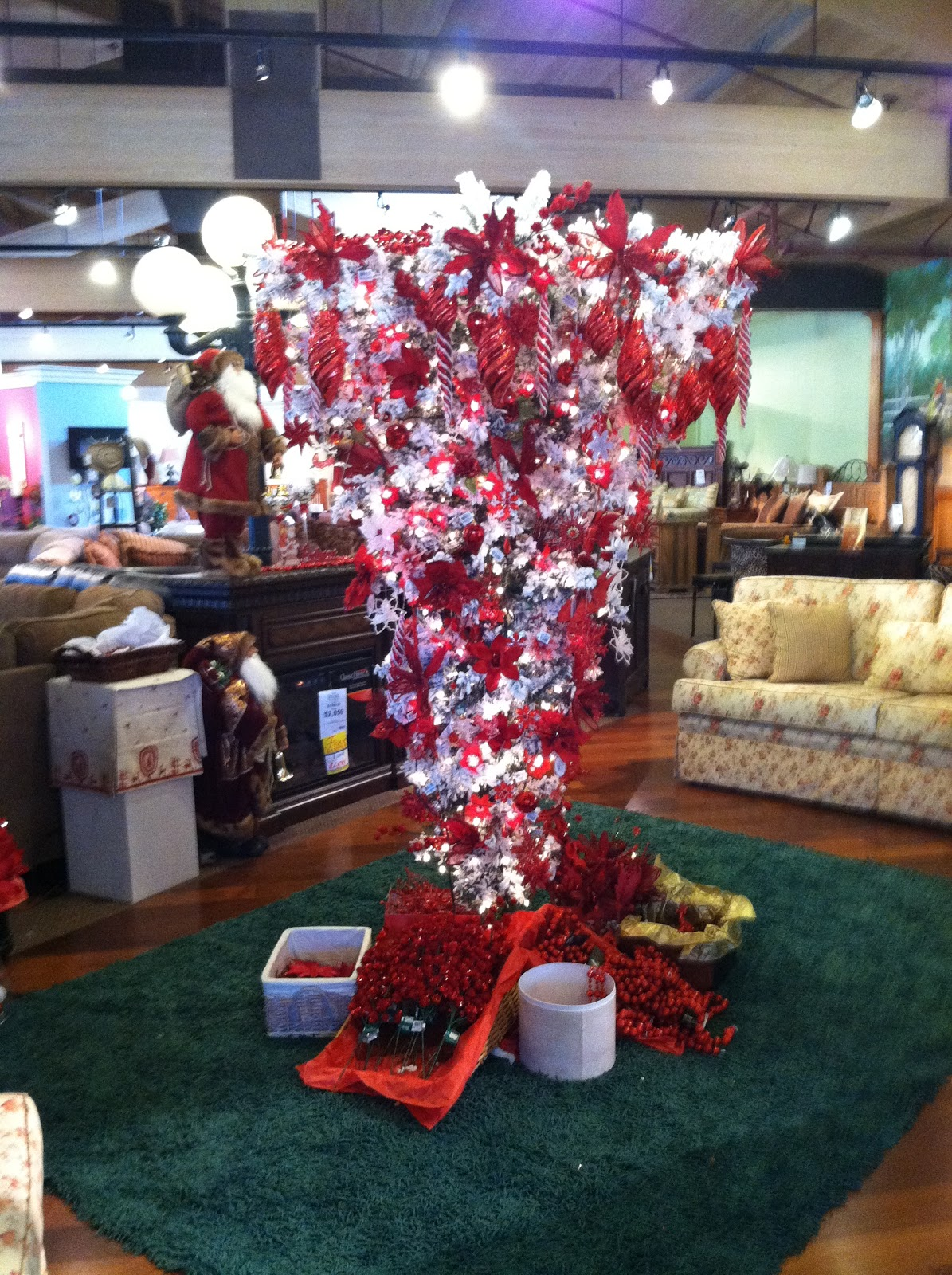 Life is a Journey: Upside down Christmas Trees?
