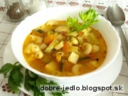 Polievka -  Minestrone - recept