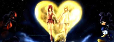 Belle image de couverture facebook kingdom hearts