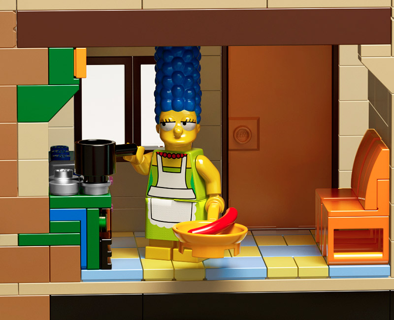 If Its Hip Its Here Archives LEGO X THE SIMPSONS Launch Minifigs House Construction Set