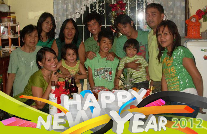 Capundag Family: Happy New Year 2012