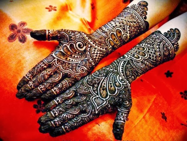 Beautiful Indian Mehndi Design 2014 For Girls And Women