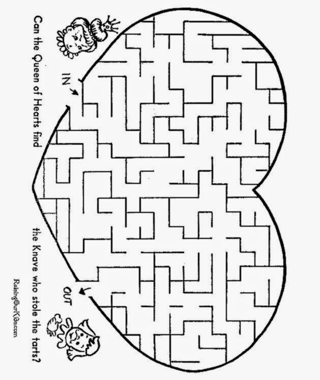 Mazes Printable activities for kids 003