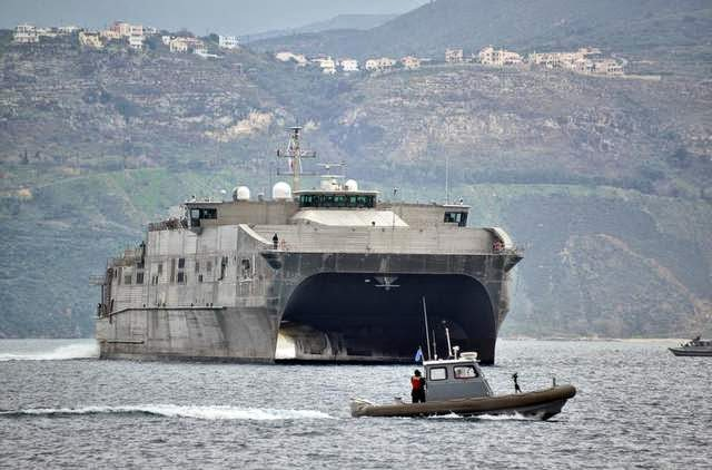 Military News - USNS Spearhead returns from maiden deployment