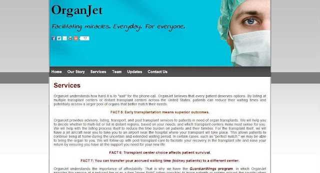 Find availability of a Kidney transplant fast by Organjet app in USA