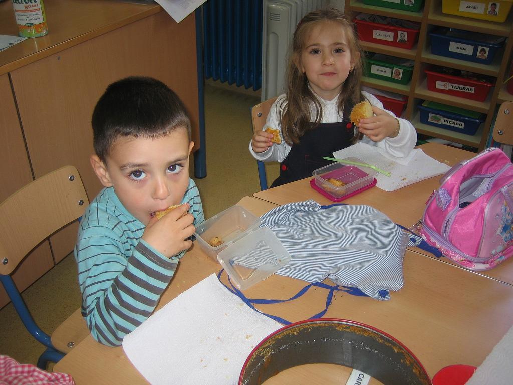 Proyectos infantil receta de cocina ii for Proyecto cocina infantil