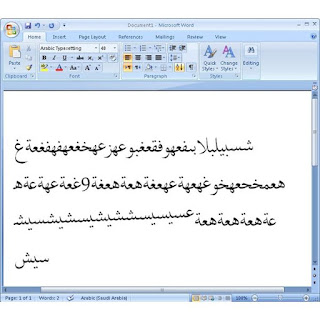 Cara menginstall font arab dan setting bahasa arab di windows 7