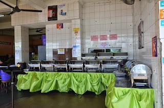buffet,kaunter buffet,makanan self service,menu makanan layan sendiri