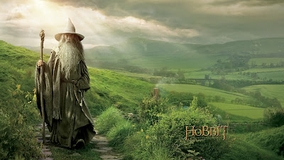 Gandalf The Hobbit An Unexpected Journey Movie Wallpaper