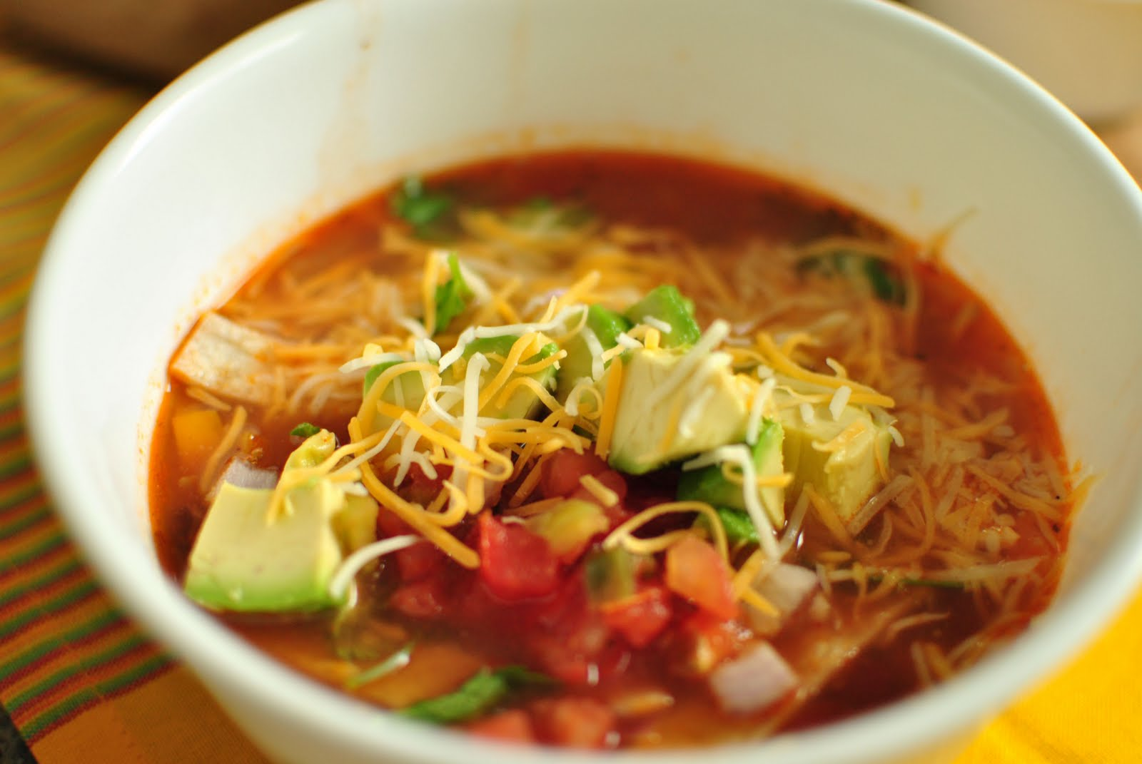 Quiet Like Horses: Chicken Tortilla Soup