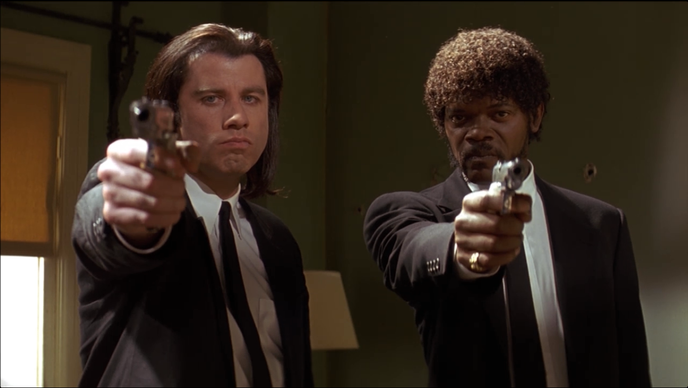 the superb editing in the movie pulp fiction by quentin tarantino Exactly 20 years ago today, pulp fiction hit theaters for the first time no one had  quite seen anything like the quentin tarantino  when he goes to the bathroom  at bruce willis's apartment later in the movie, he ends up getting killed  then,  during editing, he played the scene backwards so that it looked.
