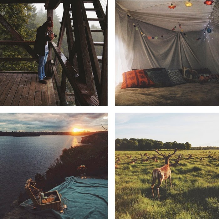 Favourite Instagram Accounts to Follow for Adventure from the blog Melody Mackereth and the Glorious Bandits: @elliekateford