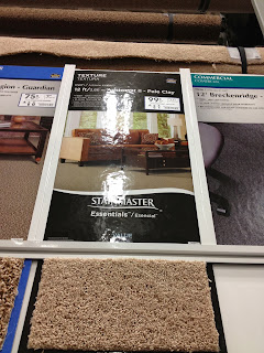 DIY cheap carpet install