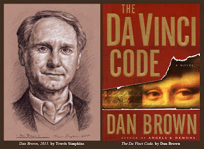 Dan Brown. Author. The Da Vinci Code. Priory of Sion. by Travis Simpkins
