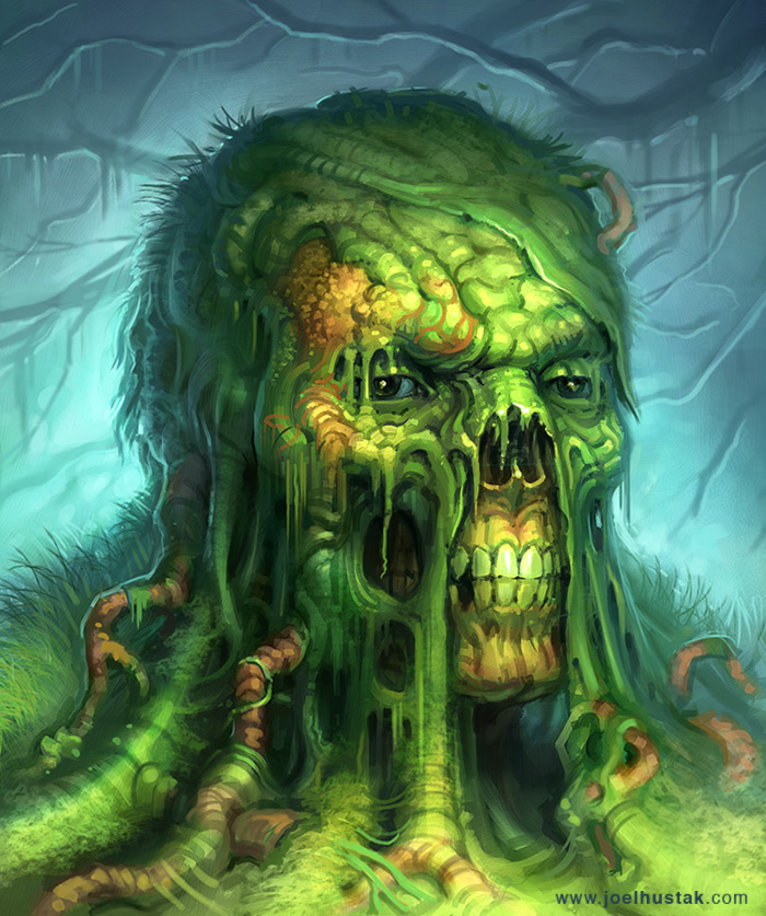 Joel Hustak Illustration: Swamp Thing