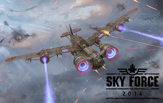 Sky Force 2014 v1.38 Apk + Datos SD Mod [Estrellas ilimitadas]