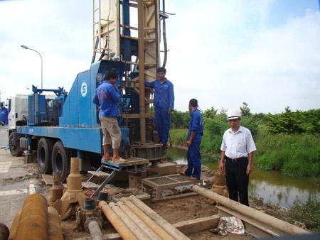 Khoan giếng công nghiệp tại Hà Nội