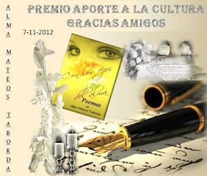"""Gracias Alma Mateos Taborda¡ del blogs """"Con los ojos del alma"""""""