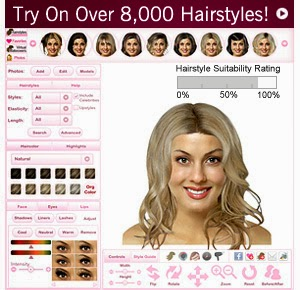 Try new hairstyles