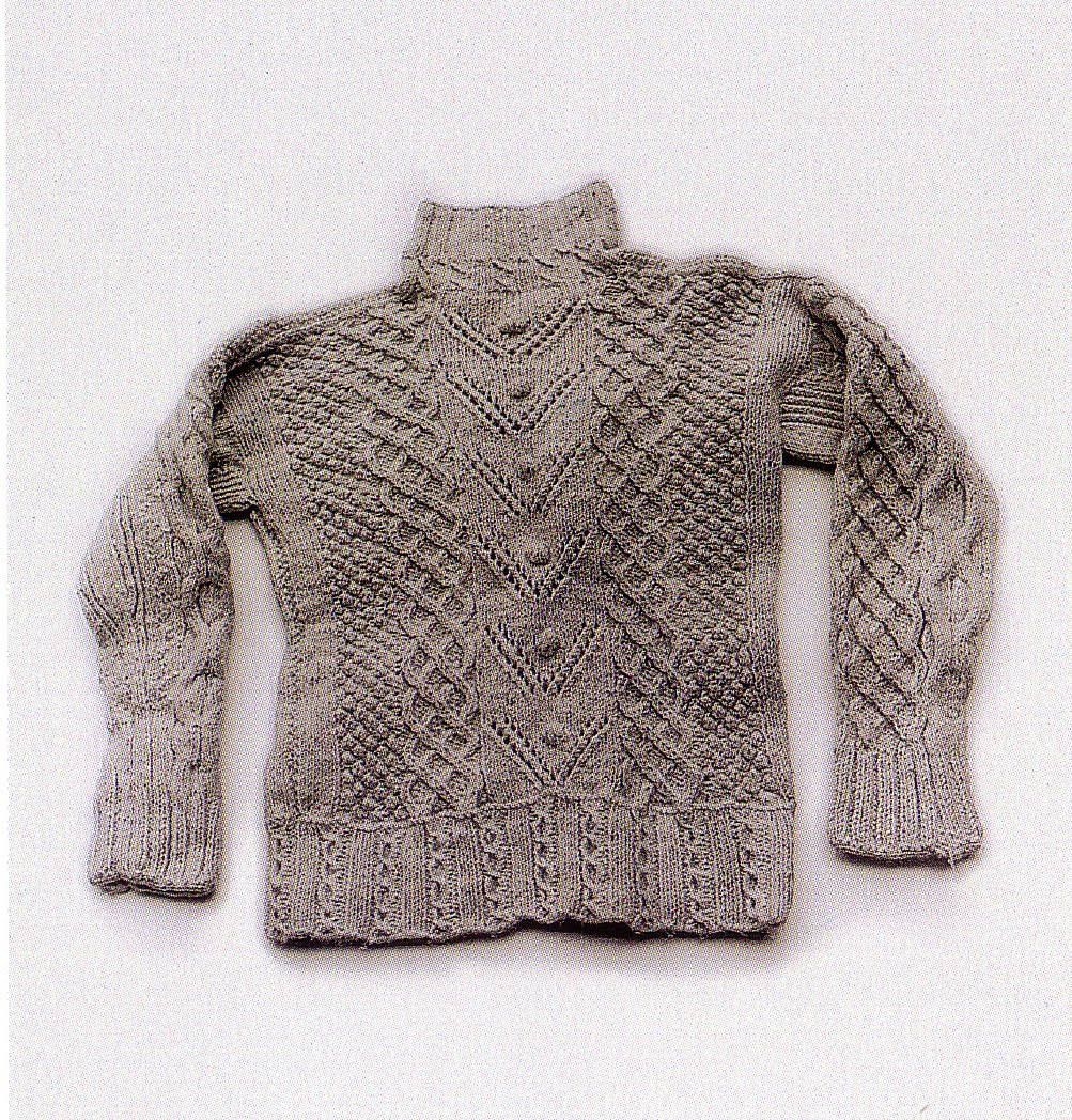 Knitting Irish Stitches : IRISH KNIT SWEATER PATTERNS