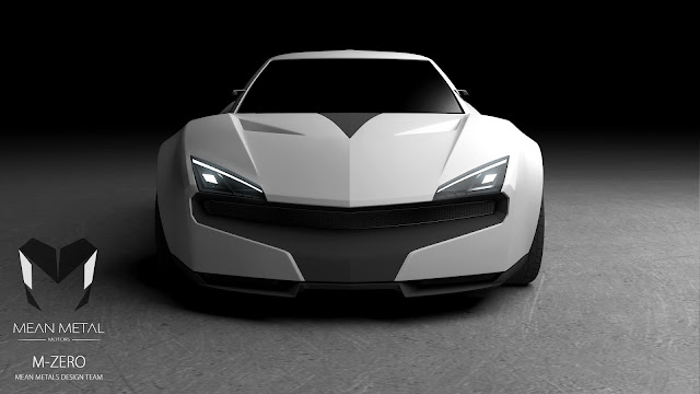 Marcelo Aguiar Mean Metal Motors M-Zero render front
