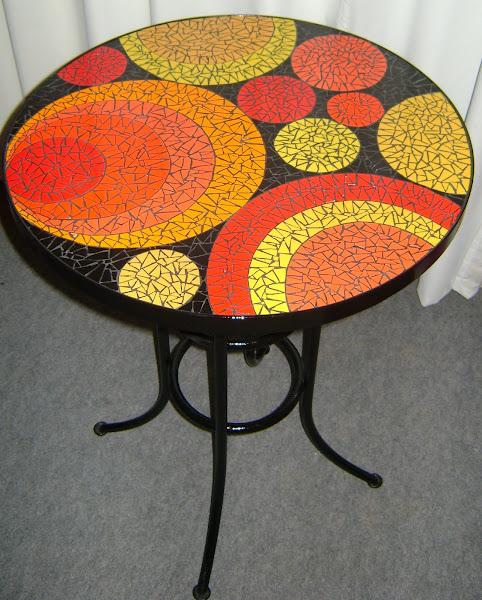 kanela mesas de mosaico
