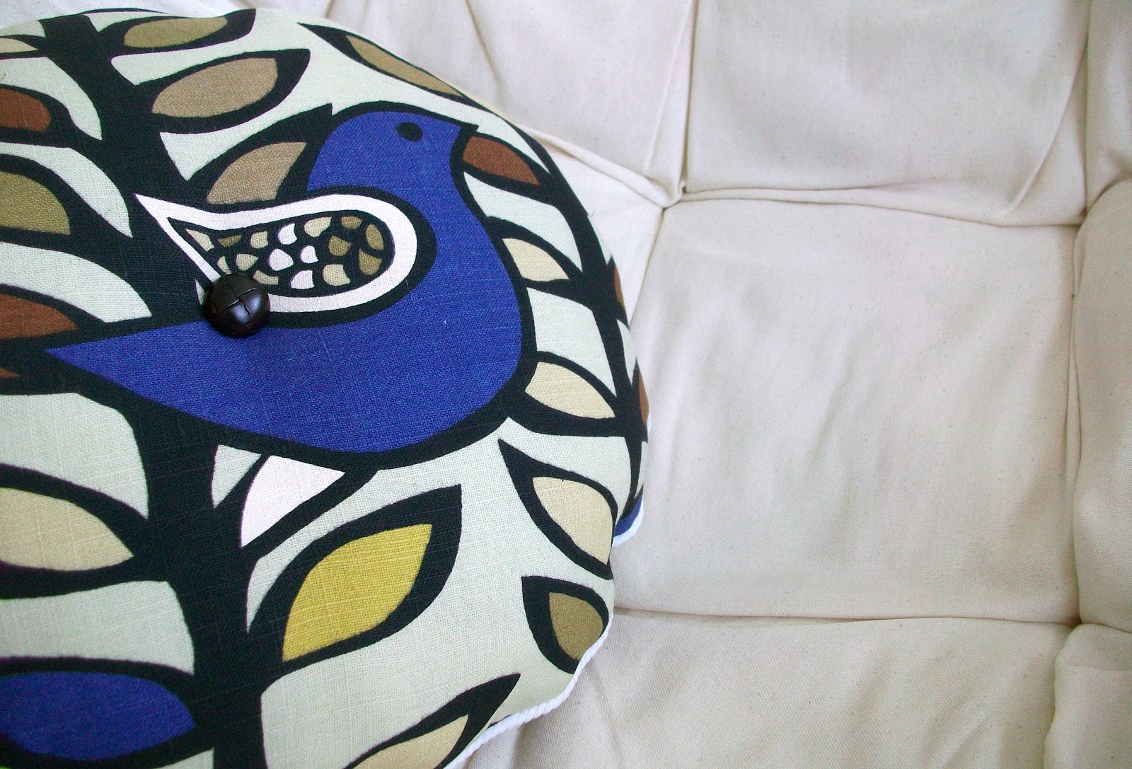 Diy Bird Pillow Heather Handmade