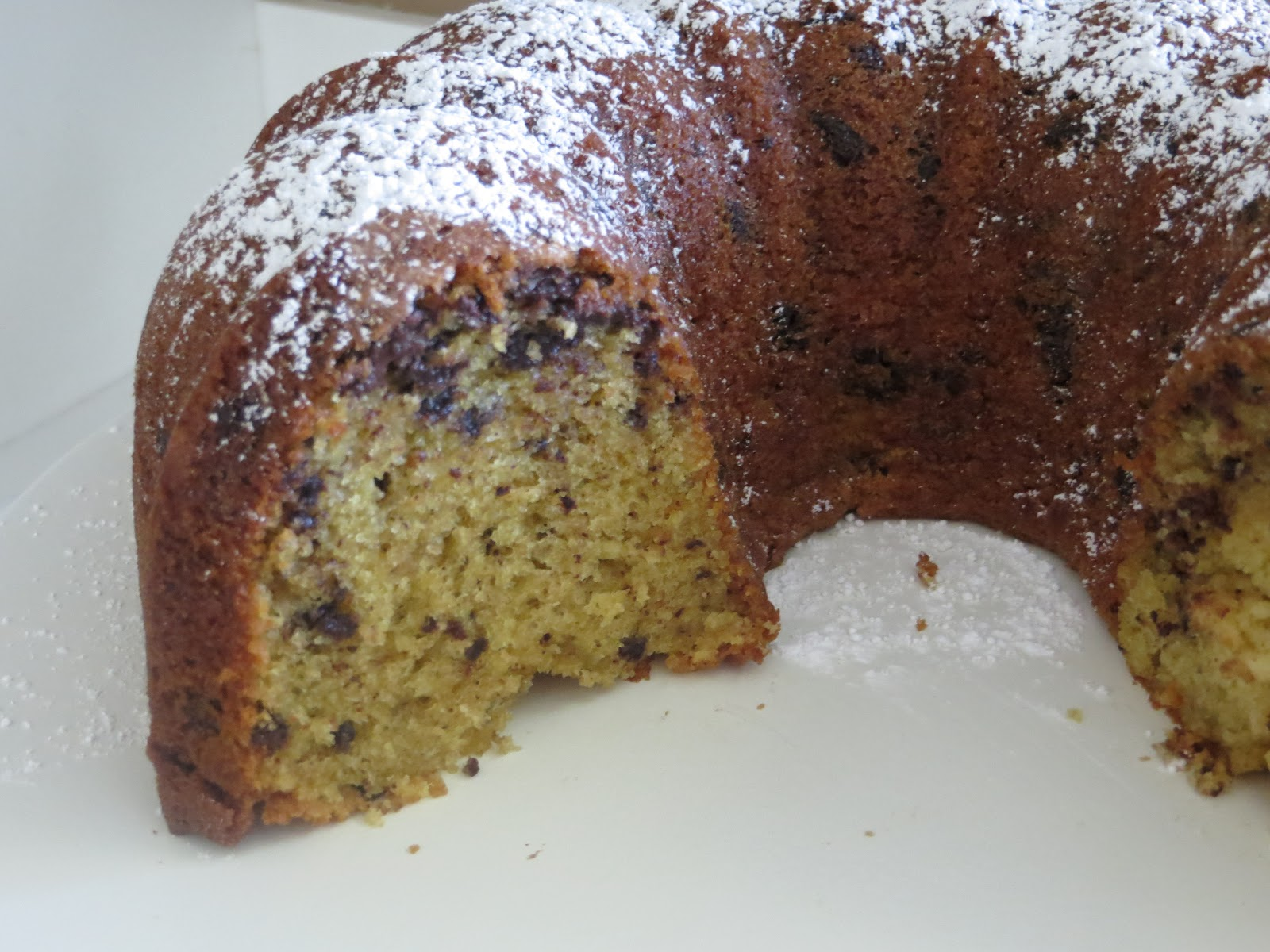 taste buds chocolate chip bundt cake