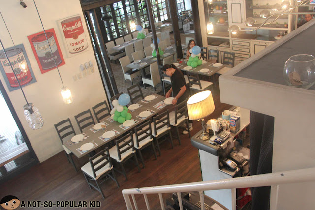 Interior of Lola Cafe + Bar