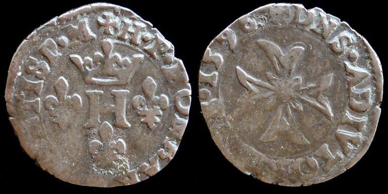 Liard de las Dombes de Marie de Montpensier D-023-109