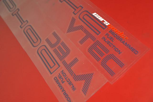 honda civic ef side door stickers